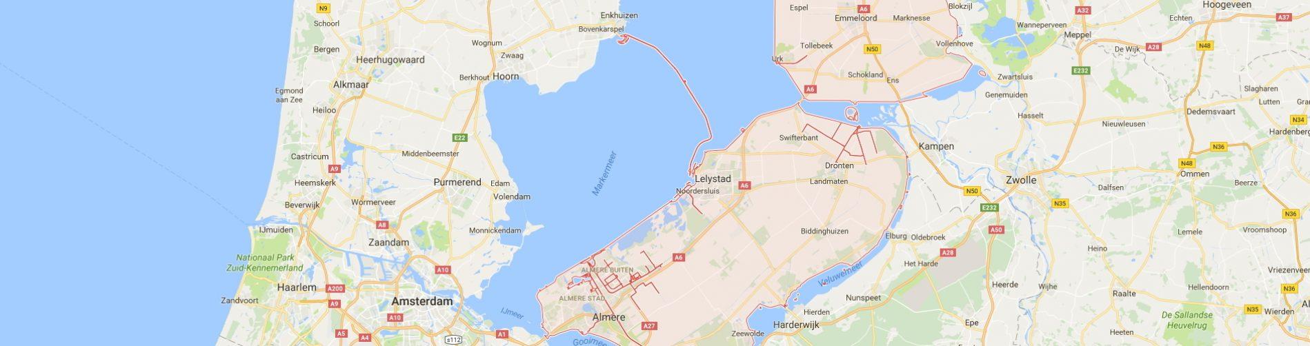 Particuliere Thuiszorg Nederland in Flevoland