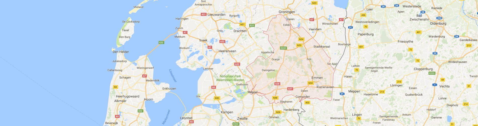 Particuliere Thuiszorg Nederland in Drenthe