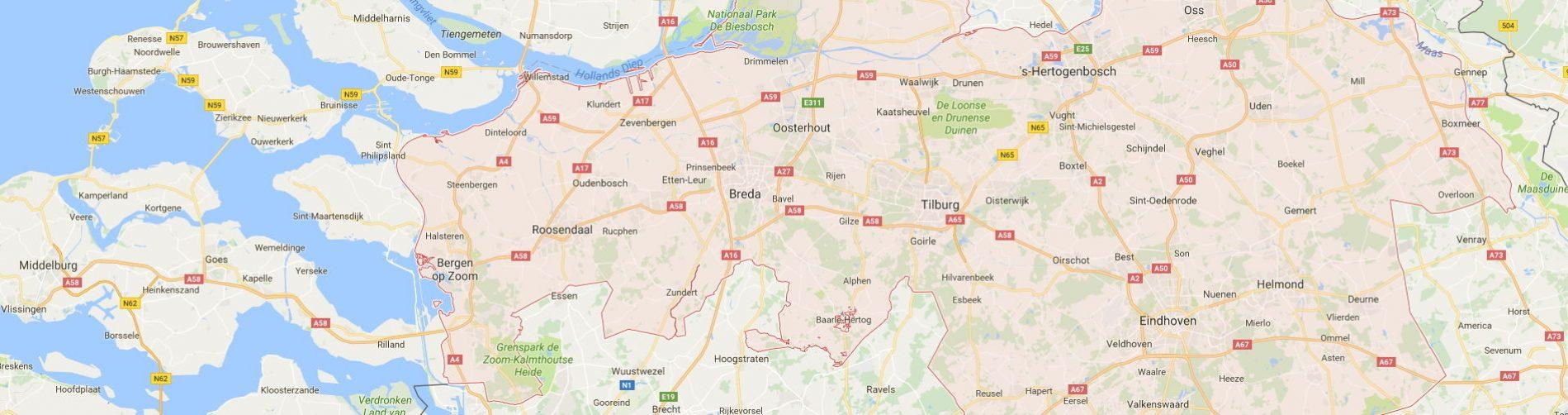 Particuliere thuiszorg in de provincie noord-brabant